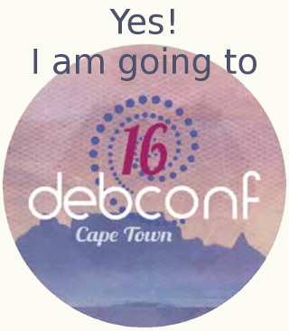 Going to DebConf16